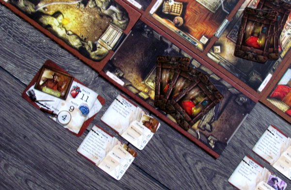 Board game review: Mansions of Madness - game is ready