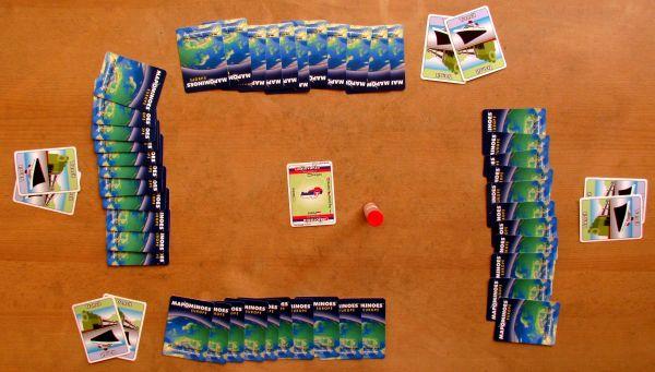 Mapominoes: Europe - připravená hra