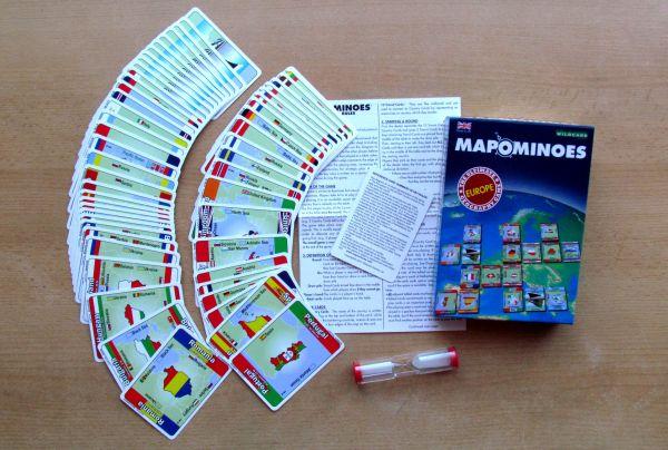 Mapominoes: Europe - balení