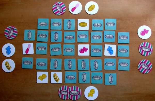 Marc Andre's Bonbons - game in progress
