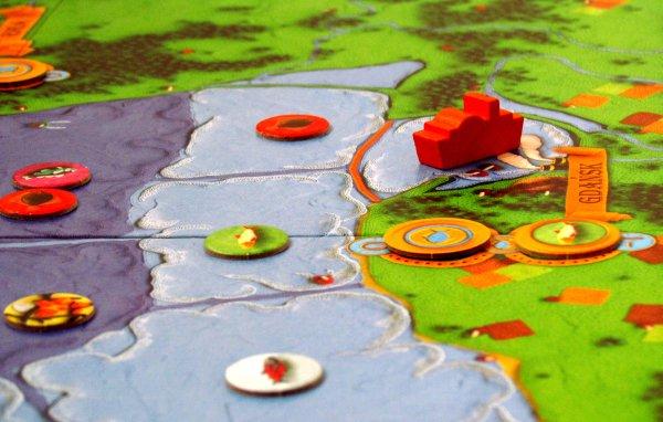 Mare Balticum - připravená hra