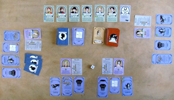 Marrying Mr. Darcy - game in progress