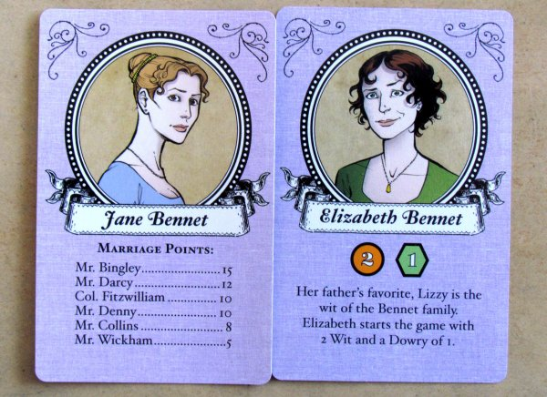 Marrying Mr. Darcy - cards