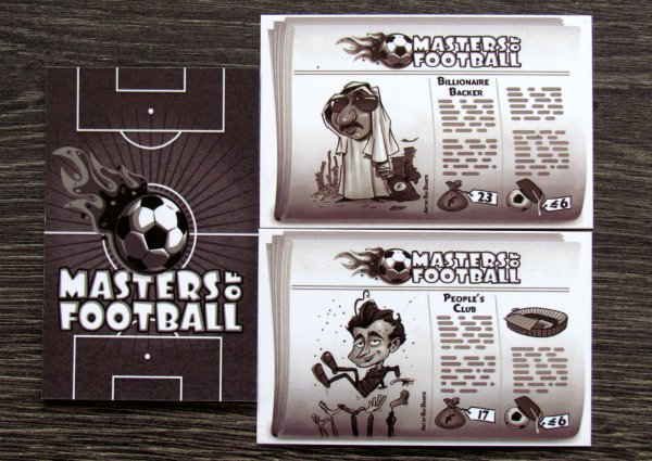 Masters of Football - karty