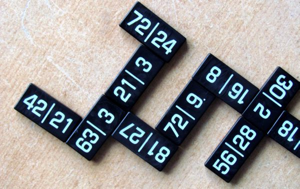 Mathable Domino - rozehraná hra