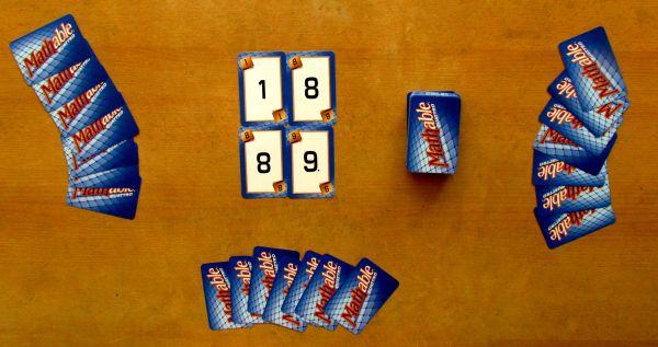Mathable Quattro - připravená hra