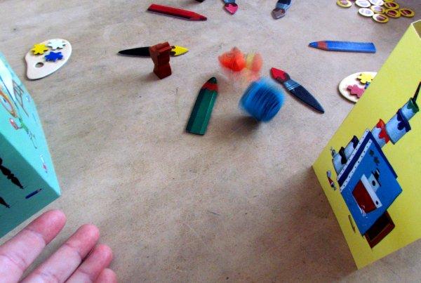 Maus Van Klecks - rozehraná hra
