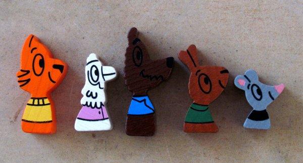 Maus Van Klecks - figurky