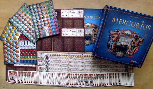 Mercurius - balení