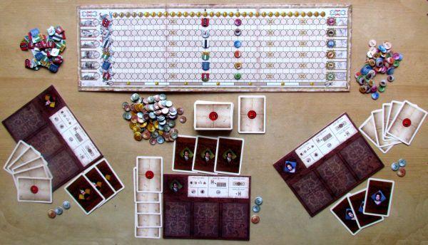 Mercurius - připravená hra