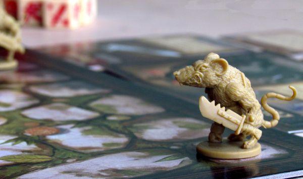 Mice and Mystics - připravená hra