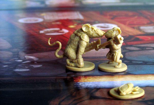 Mice and Mystics - rozehraná hra