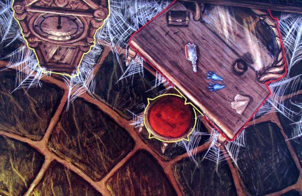 Mice and Mystics - detail herního plánu