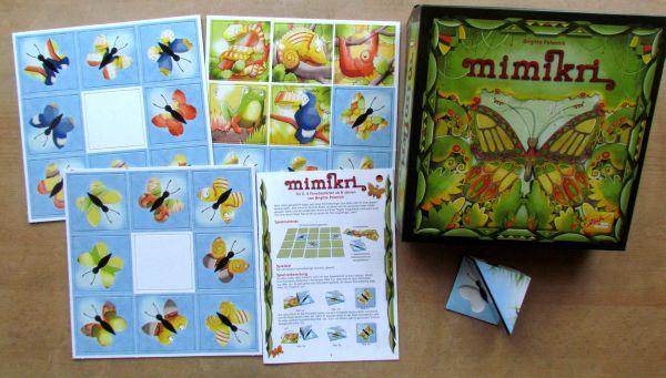 Mimikri - balení