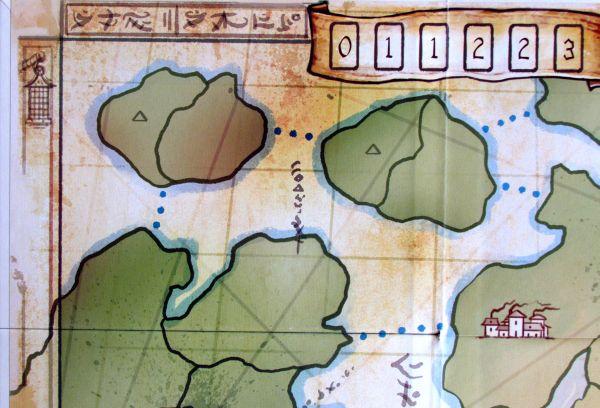 Minutová říše - detail herního plánu