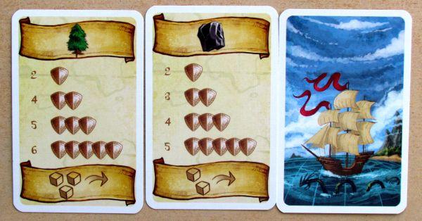 Minutová říše - karty