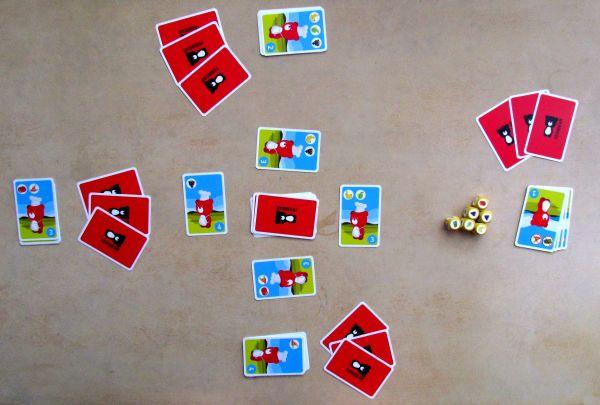 Mlsný medvídek - rozehraná hra