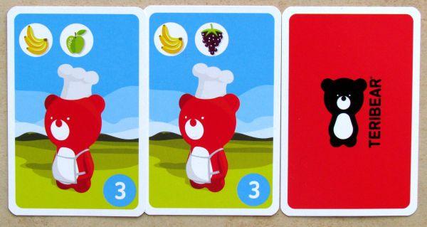 Mlsný medvídek - karty