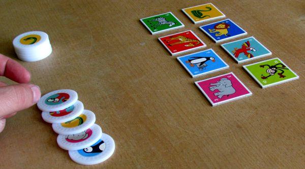 Monkey Business - rozehraná hra