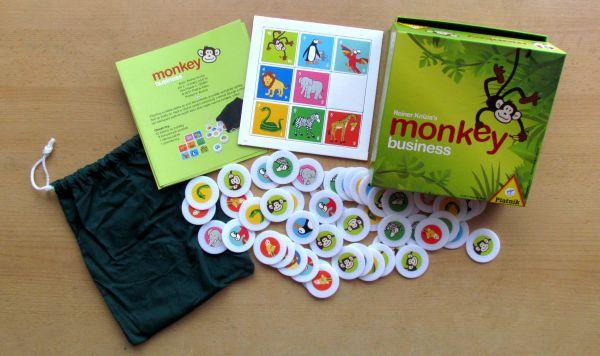 Monkey Business - balení