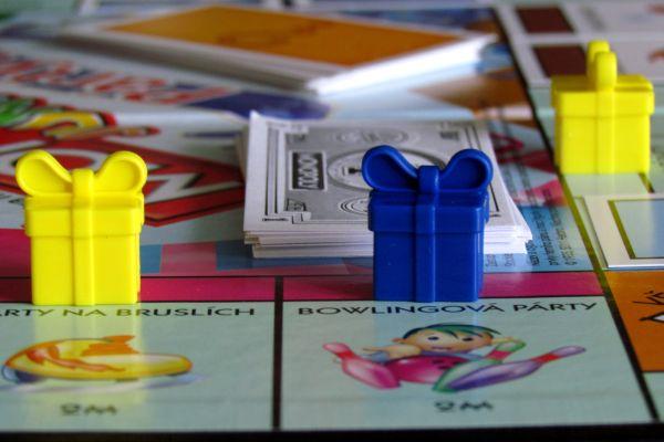 Monopoly Junior Party - rozehraná hra