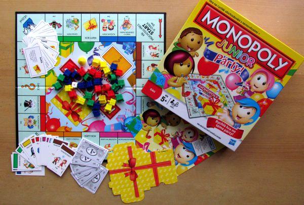 Monopoly Junior Party - balení