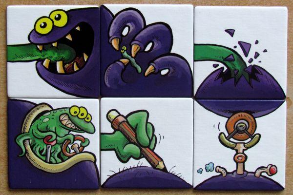 Monster Factory - dílky