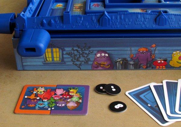 Monster-Falle - připravená hra
