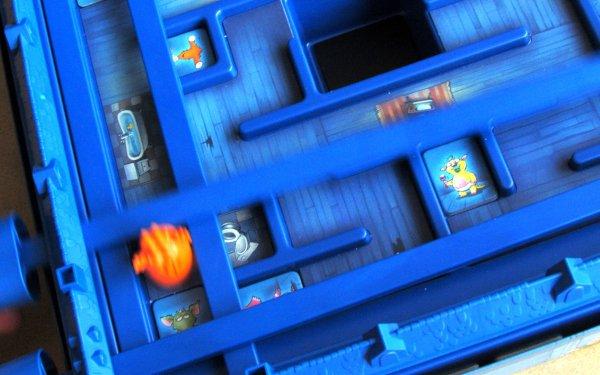 Monster-Falle - rozehraná hra