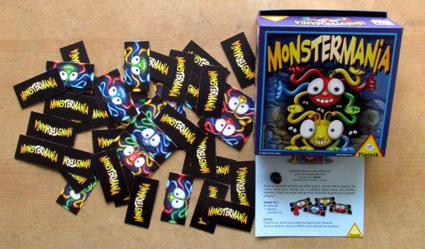 Monstermania - balení