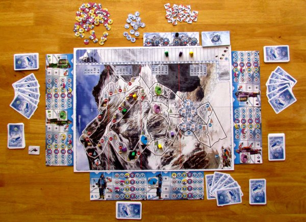 Mount Everest - rozehraná hra