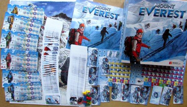 Mount Everest - balení