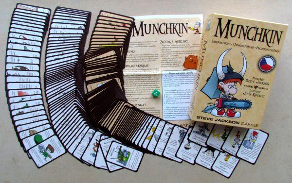 Munchkin - balení