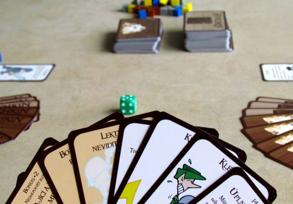 Munchkin - připravená hra