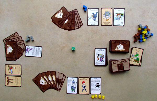 Munchkin - rozehraná hra