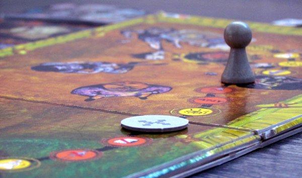 Mushroom Eaters - rozehraná hra