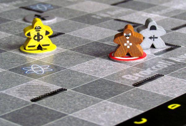 Mutant Meeples - rozehraná hra