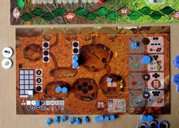 Myrmes - rozehraná hra