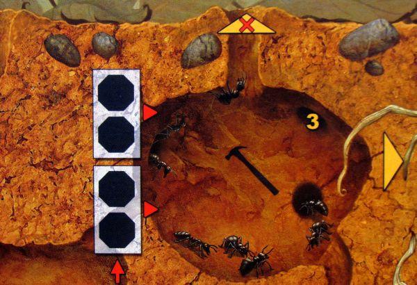 Myrmes - hráčská deska
