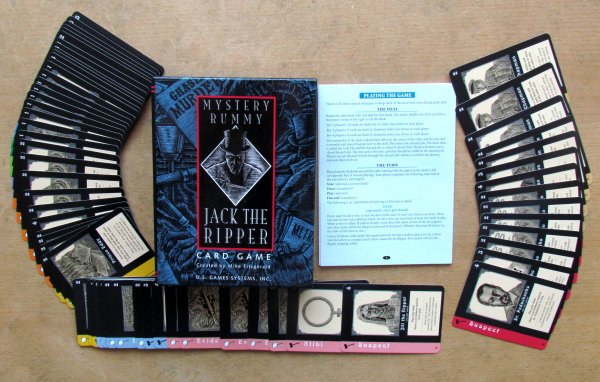 Mystery Rummy: Jack the Ripper - packaging