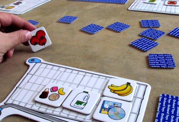 Nákupní seznam - rozehraná hra