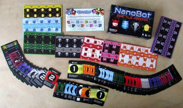 Nanobot Battle Arena - packaging
