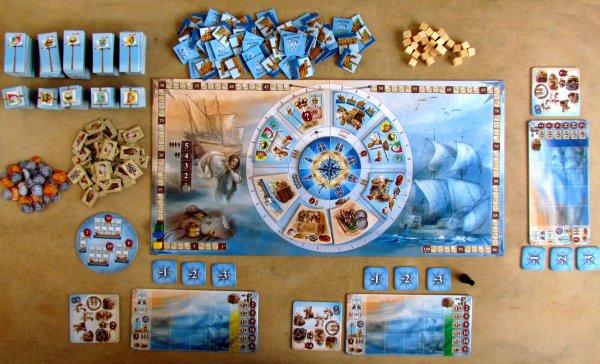 Nauticus - připravená hra