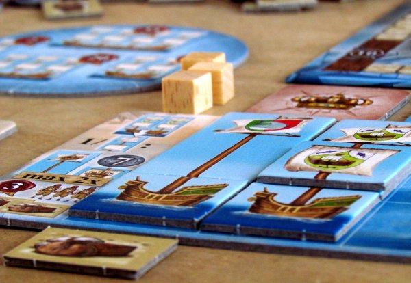 Nauticus - rozehraná hra