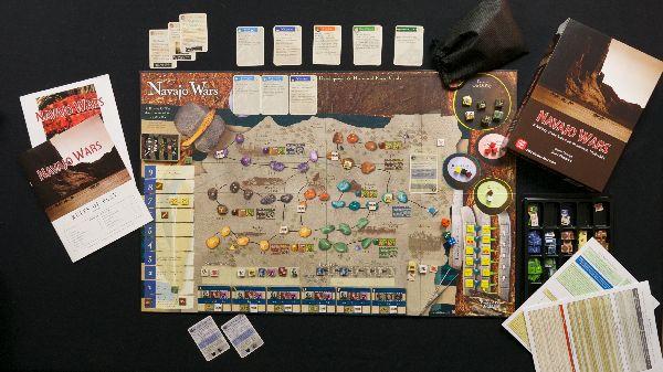 Navajo Wars - rozehraná hra