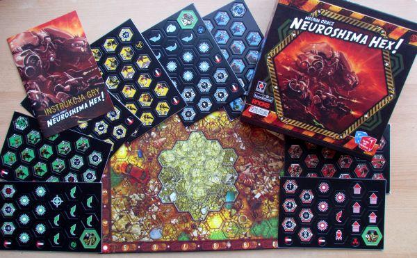 Neuroshima Hex - packaging