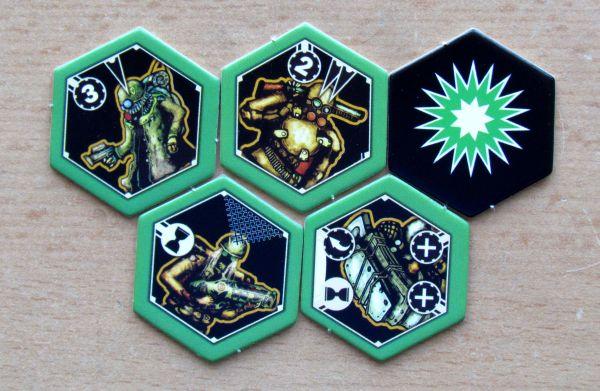 Neuroshima Hex - tokens