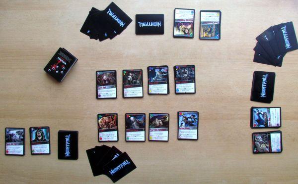 Nightfall - připravená hra