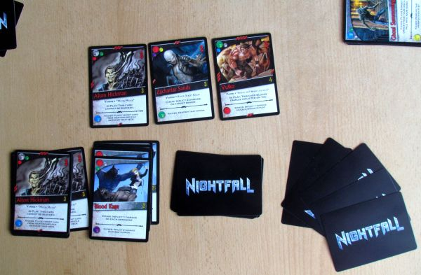Nightfall - game in progress