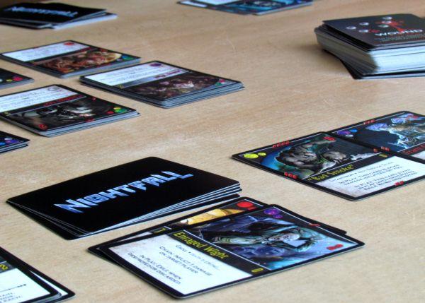 Nightfall - rozehraná hra